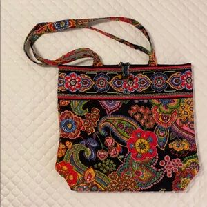 Vera Bradley bag. Measures approx 10 x 10 inches